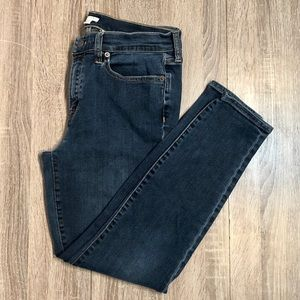 J.Crew 31 Dusty Blue Wash Skinny Jean